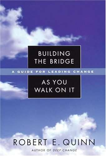 "Cover of ""Building the Bridge as You Walk on It"""
