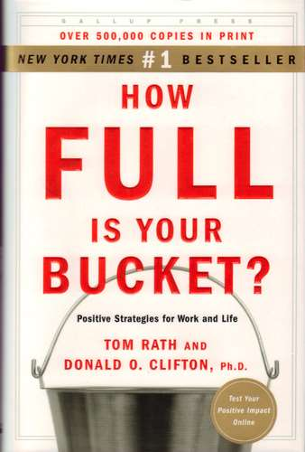 "Cover of ""How Full is Your Bucket?"""