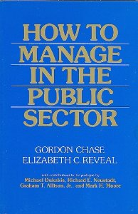 "Cover of ""How to Manage in the Public Sector"""