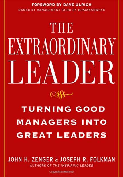 "Cover of ""The Extraordinary Leader"""