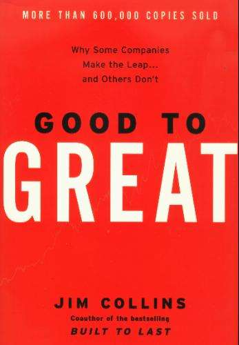 "Cover of ""Good to Great"""