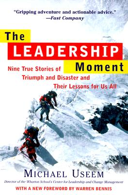 "Cover of ""The Leadership Moment"""