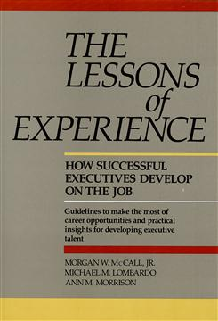 Cover of The Lessons of Experience