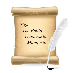 Sign The Public Leadership Manifesto