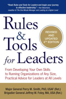 "Cover of ""Rules & Tools for Leaders"""
